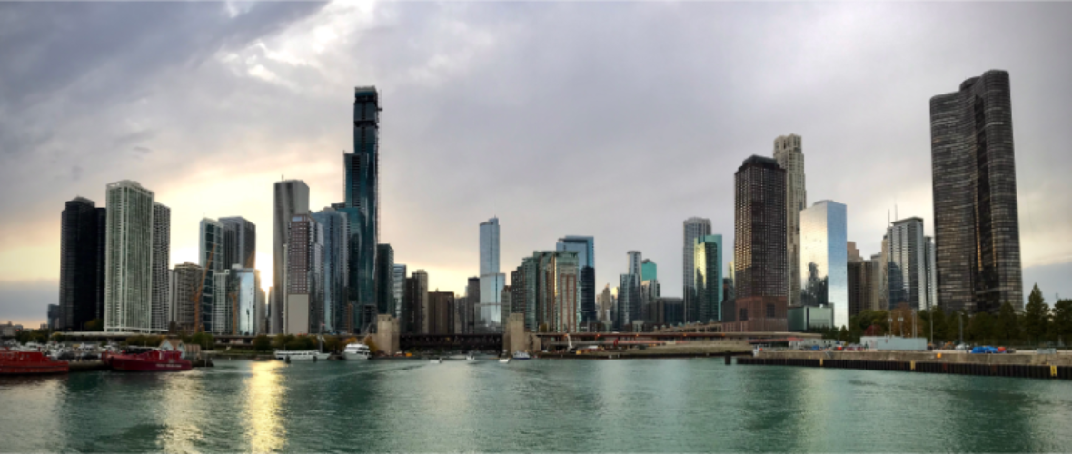 Downtown Chicago, home to our US headquarters