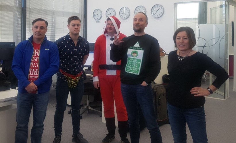 SHE Software Christmas Jumper Contest