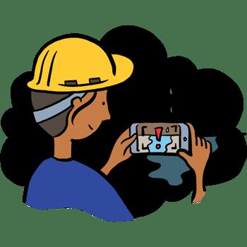 Illustration of assure hazard spotting